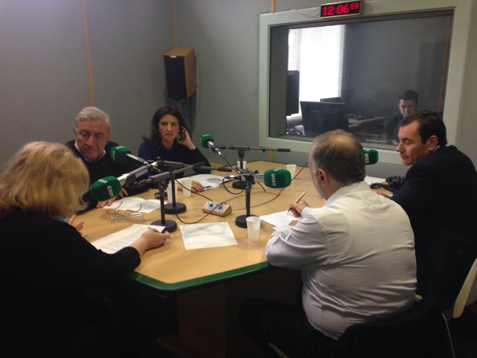 El grupo de investigación en RADIO UNED