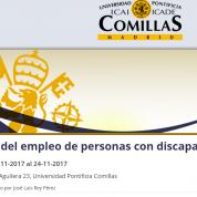 Congreso Retos del empleo de personas con discapacidad